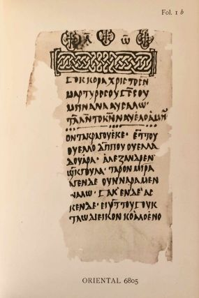 Texts relating to Saint Mêna of Egypt and canons of Nicaea in a Nubian dialect, with facsimile[newline]M6951a-31.jpg