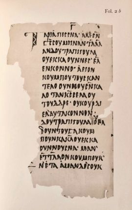 Texts relating to Saint Mêna of Egypt and canons of Nicaea in a Nubian dialect, with facsimile[newline]M6951a-33.jpg