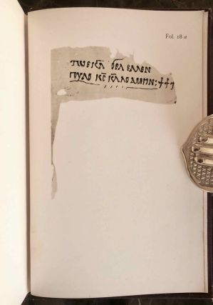 Texts relating to Saint Mêna of Egypt and canons of Nicaea in a Nubian dialect, with facsimile[newline]M6951a-34.jpg