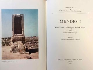 Mendes I & II, with: Addenda and Errata & Additional Bibliography and Abbreviations, loosely added (complete set)[newline]M7087-03.jpg