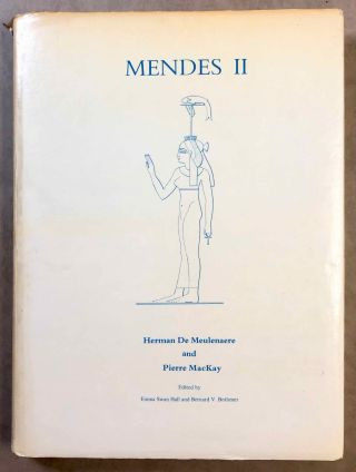 Mendes I & II, with: Addenda and Errata & Additional Bibliography and Abbreviations, loosely added (complete set)[newline]M7087-17.jpg