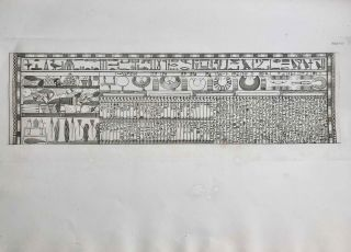 A series of highly finished engravings, by P.Q. Visconti, comprising a few of the principal objects in a collection of Egyptian antiquities, the property of Giovanni d'Athanasi, by whom the greater portion have been discovered.[newline]M7149-12.jpg