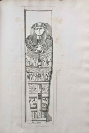 A series of highly finished engravings, by P.Q. Visconti, comprising a few of the principal objects in a collection of Egyptian antiquities, the property of Giovanni d'Athanasi, by whom the greater portion have been discovered.[newline]M7149-15.jpg