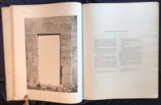 Wall drawings and monuments of El Kab. Vol. I: The tomb of Paheri. Vol. II: The tomb of Sebeknecht. Vol. III: The temple of Amenhetep III. Vol. IV: The tomb of Renni (complete set)[newline]M7150-25.jpg