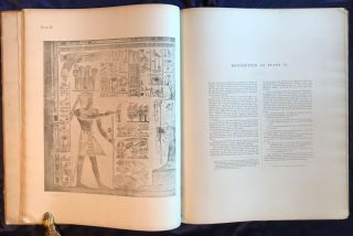 Wall drawings and monuments of El Kab. Vol. I: The tomb of Paheri. Vol. II: The tomb of Sebeknecht. Vol. III: The temple of Amenhetep III. Vol. IV: The tomb of Renni (complete set)[newline]M7150-26.jpg