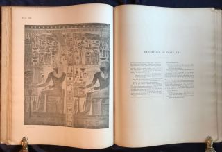 Wall drawings and monuments of El Kab. Vol. I: The tomb of Paheri. Vol. II: The tomb of Sebeknecht. Vol. III: The temple of Amenhetep III. Vol. IV: The tomb of Renni (complete set)[newline]M7150-29.jpg