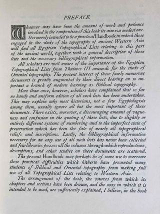 Handbook for the Study of Egyptian Topographical Lists Relating to Western Asia[newline]M7152a-05.jpeg
