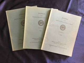 Journal of the American Research Center in Egypt (JARCE). Volumes 1 (1962) to 53 (2017) (complete run)[newline]M7196-03.jpg