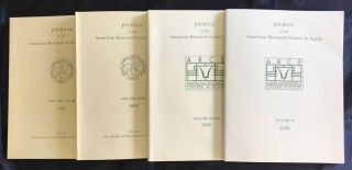 Journal of the American Research Center in Egypt (JARCE). Volumes 1 (1962) to 53 (2017) (complete run)[newline]M7196-05.jpg