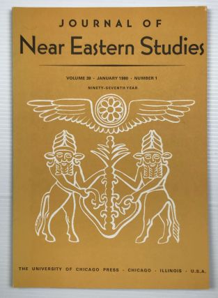 Journal of Near Eastern Studies. Vol. 32 (1973) to 47 (1988), missing 37 and 46[newline]M7197a-02.jpg