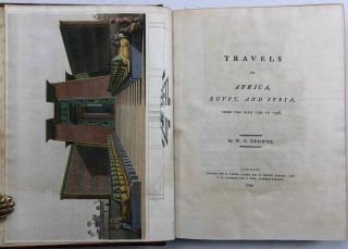 Travels in Africa, Egypt, and Syria, from the year 1792 to 1798[newline]M7223-02.jpg