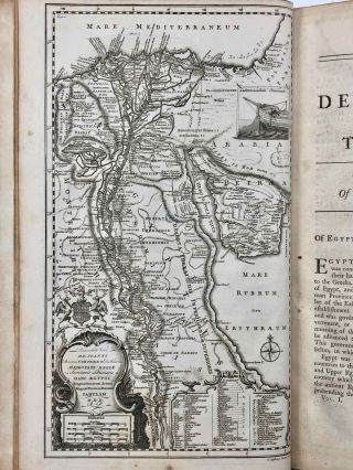 Description of the East and Some Other Countries. Vol. I: Observations on Egypt. Vol. II, part 1: Observations on Palæstine or the Holy Land, Syria, Mesopotamia, Cyprus, and Candia. Vol. II, part 2: Observations on the Islands of the Archipelago, Asia Minor, Thrace, Greece, and some other parts of Europe (complete set)[newline]M7225-07.jpg