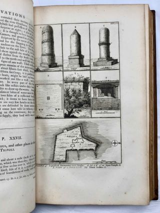 Description of the East and Some Other Countries. Vol. I: Observations on Egypt. Vol. II, part 1: Observations on Palæstine or the Holy Land, Syria, Mesopotamia, Cyprus, and Candia. Vol. II, part 2: Observations on the Islands of the Archipelago, Asia Minor, Thrace, Greece, and some other parts of Europe (complete set)[newline]M7225-23.jpg