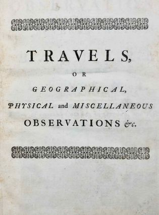 Travels, or Observations Relating to Several Parts of Barbary and the Levant[newline]M7226-03.jpg
