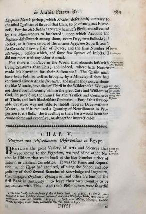 Travels, or Observations Relating to Several Parts of Barbary and the Levant[newline]M7226-24.jpg