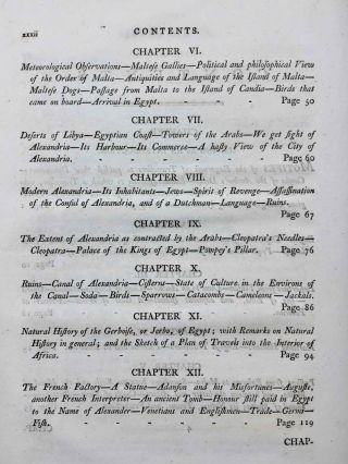 Travels in upper and lower Egypt: undertaken by order of the old government of France; by C. S. Sonnini, engineer in the French navy, and member of several scientific and literary societies. Followed by: Report of the Commission of Arts to the First Consul Bonaparte on the Antiquities of Upper Egypt and the present state of all the temples, palaces, obelisks, statues, tombs, pyramids, &c. of Philoe, Syene, Thebes, Tentyris, Latopolis, Memphis, Heliopolis, &c.. &c.[newline]M7229-07.jpg