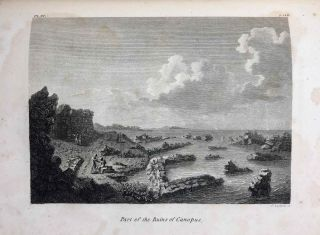 Travels in upper and lower Egypt: undertaken by order of the old government of France; by C. S. Sonnini, engineer in the French navy, and member of several scientific and literary societies. Followed by: Report of the Commission of Arts to the First Consul Bonaparte on the Antiquities of Upper Egypt and the present state of all the temples, palaces, obelisks, statues, tombs, pyramids, &c. of Philoe, Syene, Thebes, Tentyris, Latopolis, Memphis, Heliopolis, &c.. &c.[newline]M7229-20.jpg