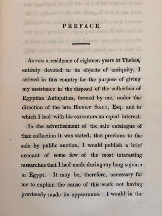 A Brief Account of the Researches and Discoveries in Upper Egypt Made Under the Direction of Henry Salt. To which is added a detailed catalogue of Mr. Salt's collection of Egyptian antiquities, illustrated with twelve engravings of some of the most interesting objects, and an enumeration of those articles purchased for the British Museum.[newline]M7233-012.jpg