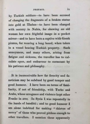 Travels in Turkey, Egypt, Nubia and Palestine in 1824, 1825, 1826 and 1827. 2 volumes (complete set)[newline]M7234-07.jpg