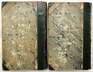 Travels in Turkey, Egypt, Nubia and Palestine in 1824, 1825, 1826 and 1827. 2 volumes (complete set)[newline]M7234-35.jpg