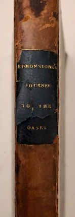 A Journey to the Two Oases of Upper Egypt. EDMONSTONE Archibald[newline]M7238-001.jpg