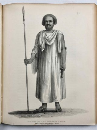 Travels in Ethiopia, above the second cataract of the Nile. Exhibiting the state of that country, and its various inhabitants, under the dominion of Mohammed Ali and illustrating the antiquities, art and history of the ancient kingdom of Meroe.[newline]M7247-28.jpg