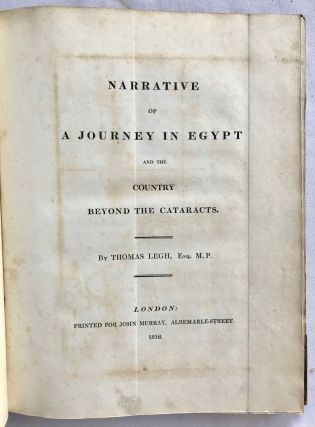 Narrative of a Journey in Egypt[newline]M7259-05.jpg