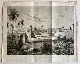 Travels in the Oasis of Thebes, and in the deserts situated East and West of the Thebaid, in the years 1815, 16, 17, and 18[newline]M7275-081.jpg