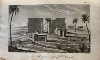 Travels in the Oasis of Thebes, and in the deserts situated East and West of the Thebaid, in the years 1815, 16, 17, and 18[newline]M7275-083.jpg