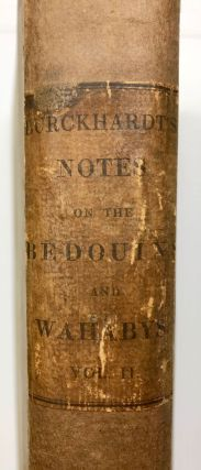 Notes on the Bedouins and Wahabys. Collected during his travels in the East. Vol. II (only)[newline]M7303-01.jpg
