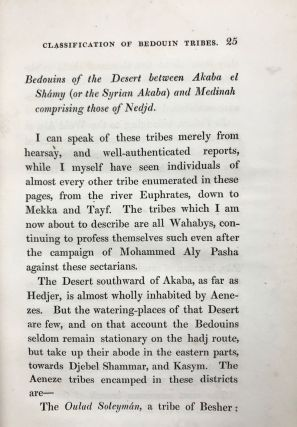 Notes on the Bedouins and Wahabys. Collected during his travels in the East. Vol. II (only)[newline]M7303-08.jpg