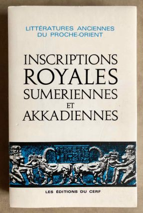 Inscriptions royales sumériennes et akkadiennes. SOLLBERGER Edmond - KUPPER J. R[newline]M7309.jpg