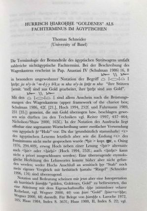 Egyptian and Semito-Hamitic (Afro-Asiatic) studies: in memoriam W. Vycichl[newline]M7331-08.jpg