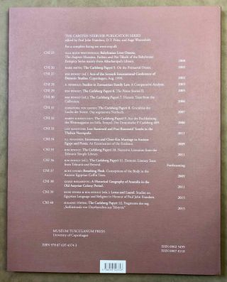 Catalogue of Egyptian Funerary Papyri in Danish Collections. The Carlsberg Papyri, vol. 13.[newline]M7333-10.jpg