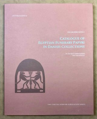 Catalogue of Egyptian Funerary Papyri in Danish Collections. The Carlsberg Papyri, vol. 13....[newline]M7333.jpg