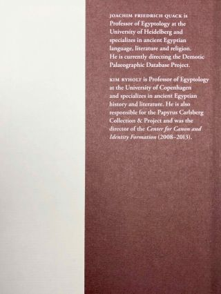 Demotic Literary Texts from Tebtunis and Beyond. 2 volumes (complete set)[newline]M7337-12.jpg