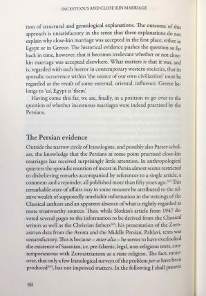 Incestuous and Close-Kin Marriage in Ancient Egypt and Persia. An examination of the evidence.[newline]M7338-13.jpg