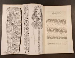 An Account of an Egyptian Mummy, presented to the Museum of the Leeds Philosophical and Literary Society, by the late John Blayds, Esq. Drawn up at the request of the council: by William Osburn, Junior, F.R.S.L. Secretary to the Society, with an Appendix, containing the Chemical and Anatomical Details of the Examination of the Body, by Messrs. E.S. George, F.L.S. Secretary to the Society; T.P. Teale and R. Hey.[newline]M7467-03.jpg