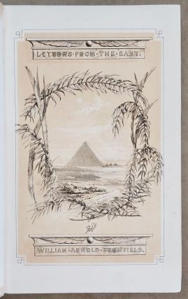 Letters from Egypt and Syria. BROMFIELD William Arnold[newline]M7540.jpeg
