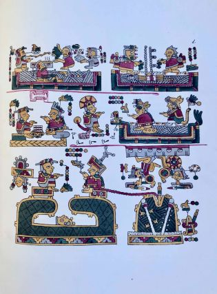 Antiquities of Mexico. Comprising fac-similes of ancient Mexican paintings and hieroglyphics, preserved in the royal libraries of Paris, Berlin and Dresden, in the Imperial library of Vienna, in the Vatican library; in the Borgian museum at Rome; in the library of the Institute at Bologna; and in the Bodleian library at Oxford. Together with the Monuments of New Spain, by M. Dupaix: with their respective scales of measurement and accompanying descriptions.[newline]M7573-1205.jpeg