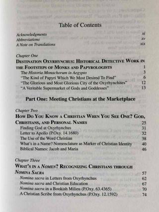 Greetings in the Lord. Early Christians in the Oxyrhynchus Papyri.[newline]M7593-02.jpeg