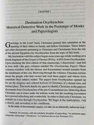Greetings in the Lord. Early Christians in the Oxyrhynchus Papyri.[newline]M7593-05.jpeg