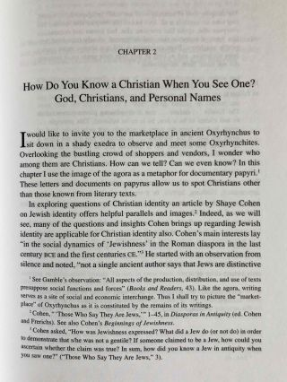 Greetings in the Lord. Early Christians in the Oxyrhynchus Papyri.[newline]M7593-06.jpeg