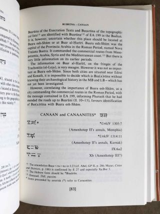 Canaanite toponyms in ancient Egyptian documents[newline]M7606-05.jpeg
