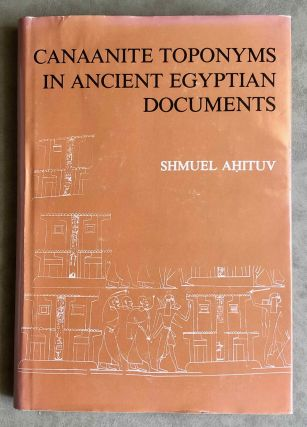 Canaanite toponyms in ancient Egyptian documents. AHITUV Shmuel[newline]M7606.jpeg