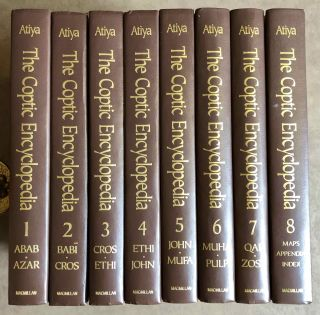 The Coptic Encyclopedia, 8 volumes (complete set). ATIYA Aziz S[newline]M7609.jpeg