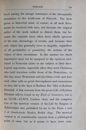 The Histories of Rabban Hormizd the Persian and Rabban Bar-Idta: The Syriac Texts edited with English Translations. Vol. I: The Syriac texts (only)[newline]M7641-08.jpeg