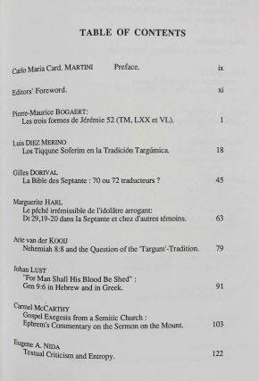Tradition of the Text: Studies Offered to Dominique Barthelemy in Celebration of His 70th Birthday[newline]M7905-03.jpeg
