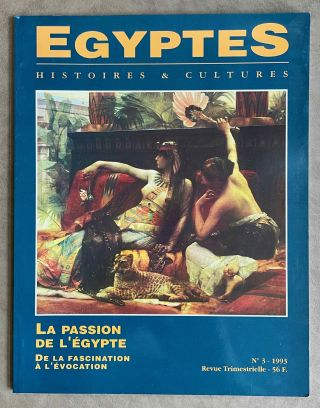 Egyptes. Histoires & Cultures. No 1993/3. AAE - Journal - Single issue[newline]M8093-00.jpeg