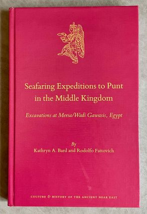 Seafaring Expeditions to Punt in the Middle Kingdom. Excavations at Mersa/Wadi Gawasis, Egypt....[newline]M8115-00.jpeg